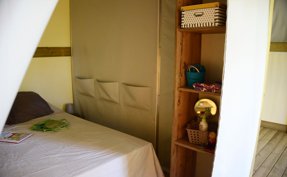 chambre simple tente lodge